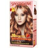 Creme permanente da cor do cabelo de um Speedshine de 10 minutos