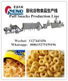 中国の製造業者からのパッキング機械が付いている揚げられていた小麦粉のパフの軽食の加工ライン食糧押出機機械