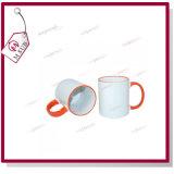 Mejorsub著Sublimationのための11oz Inner Color Orange Mug