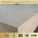 Álamos/Bintangor/Okoume enchapado de madera contrachapada para Constrction comercial