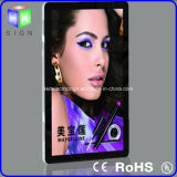 Advertizing Art Work LED Light Display에 수정같은 Acrylic LED Light Box Picture Frame Used