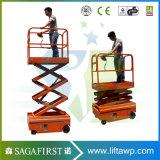 4 m de la lumière qualité stable Portable plates-formes aériennes table élévatrice à ciseaux