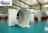 """Gofee 51"""" 380 Вольт 1.1kw 3 фазы шкив привода вытяжного вентилятора на ферме свиней и птицы фермы"""