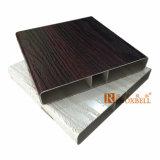 Panel de aluminio de madera 4D de aluminio muro cortina Revestimiento