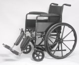 Manuel en acier, économie, fauteuil roulant, fixe, (YJ-K101-1)