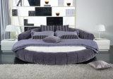 2017 heiß! Modernes weiches Bett in Gewebe-rundem Bett 626