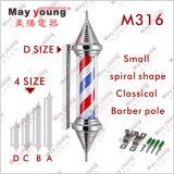 Prix d'usine Classic Rotating Salon Barber Shop Pole