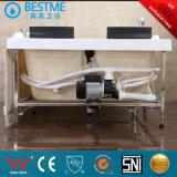 Forma de triángulo Woodframe bañera de masaje con panel de control (BT-353)