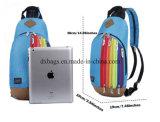 Frauen-Mädchen-Nylonschulter-Schule-Beutel-Rucksack-Arbeitsweg-Schultaschen-Rucksack-Regenbogen