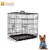 Boston-Terrier-Maschendraht-Rahmen
