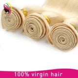El tejer mongol del pelo humano del pelo recto del 100%