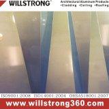 Multi facciata composita di alluminio blu del comitato