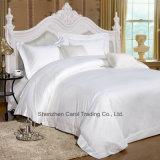 Загрузите обычную белую роскошный отель Sateen питания текстильной