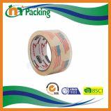 명백한 BOPP 패킹 테이프를 포장하는 상자에 사용되는 50mic