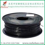 Верхний класс 1,75 мм углеродного волокна черного цвета лампы накаливания для 3D-принтер