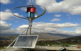 Ce 600W Maglev Wind Turbine off-Grid System instalado no carro