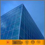 Спрятанная и, котор подверганная действию ненесущая стена рамки стеклянная (профессиональная конструкция)