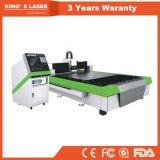 Máquina de grabado automática del corte del laser del metal de la fibra del acero de carbón del CNC