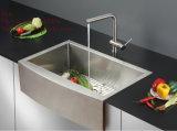 Tablier évier à la main, évier en acier inoxydable, évier de cuisine, évier