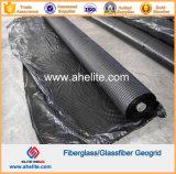 la fibra di vetro Geogrids di 50kn/Mx50kn/M ha ricoperto di bitume dell'asfalto