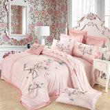 8PC. 100% algodão Luxury Home Bordados Edredão cobrir extras definidos