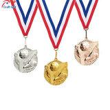 Medaglia su ordinazione del metallo della ragazza di Dancing di alta qualità per lo sport