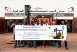 Eindeutiger Dieselgabelstapler der UNO-Marken-2.5t mit dem Triplex 7.0m Mast