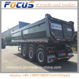 remorque de camion- 40cbm pour le transport de charbon fabriqué en Chine