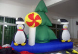 عيد ميلاد المسيح قابل للنفخ [سنتا] ([كس-033])
