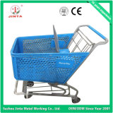 Высшее качество чистый пластиковый супермаркет магазинов тележка (JT-E02)