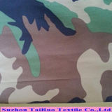 Taslon impreso camuflaje revestido para la tela uniforme