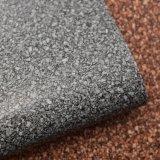 Flor de pedra pequena couro artificial malogrado impresso do saco da esponja do PVC