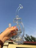 De Rokende Waterpijp van het Glas van de Tabak van de Douche van Birdcage van het Wiel van het Onkruid van de Honingraat Adustable van de Diameter 5thickness van Hbking 18inch 60