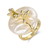Boucle d'eau douce ronde de perle d'accessoires de mode pour l'usager