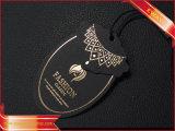 La modifica del documento del nero della modifica di caduta dell'indumento con oro ha stampato