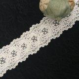 綿の衣服のための化学刺繍のレース
