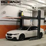 Cer-Diplom- und zwei Pfosten-Entwurfs-Auto-Aufzug für Garage