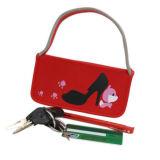 유행 연약한 빨간 내오프렌 부대 핸드백 끈달린 가방 (NTB05)