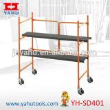 Mini mobile de la Construction en acier pliable Échafaudage Échafaudages pour l'intérieur ou extérieur (YH-SD401)