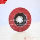 115mm, P40, disco piano abrasivo di ceramica della falda T29 per il metallo di Gringding