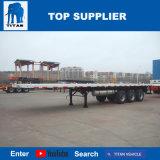 Des Titan-BPW dreifache der Wellen-40 Füße 48 halb Flachbett-LKW-Schlussteil-hergestellt in China