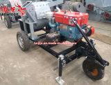 디젤 엔진 움직일 수 있는 목제 분지 쇄석기 기계