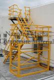アセンブリモデルガラス繊維のFRP/GRPによっておりに入れられる梯子、FRPのガードレール、システムを囲うプラスチックガラス繊維