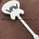 Custom Topo branco corpo oco Jazz guitarra eléctrica (JH-9)