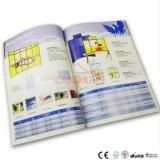 Impression commerciale de livret explicatif de brochure d'impression de catalogue de qualité