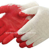 Premium с покрытием из латекса из пеноматериала рабочие перчатки