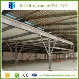 Alta plan galvanizado subida prefabricada del proyecto de edificio de la estructura de acero