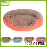 Großer Hundebett-Hunderundes Bett-Plüsch-Hundebett