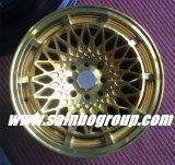 O ouro do mercado de acessórios F70519 roda bordas da roda da liga do carro