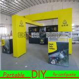Cabina &Reusable versátil portable de la exposición de la feria profesional de la aduana DIY en China